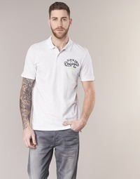 Clothing Men short-sleeved polo shirts Jack & Jones JORTRAST White
