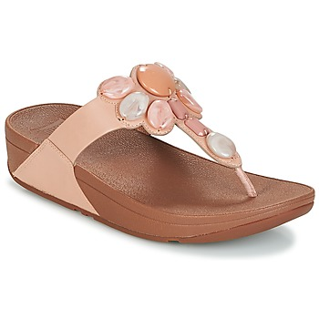 Shoes Women Flip flops FitFlop HONEYBEE JEWELLED TOE Nude