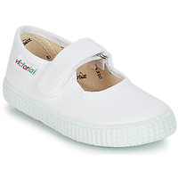 Shoes Girl Flat shoes Victoria 6611 White
