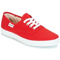 Shoes Low top trainers Victoria 6613 Red