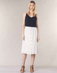 Clothing Women Skirts Betty London INNATIMBO Ecru