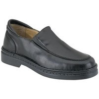 Shoes Boy Loafers Calzamedi Moccasin  special delicate feet wide BLACK