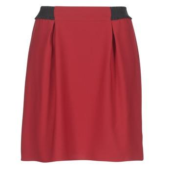 Clothing Women Skirts Naf Naf KATIA Red