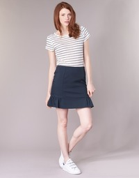 Clothing Women Skirts Naf Naf EFUN Marine