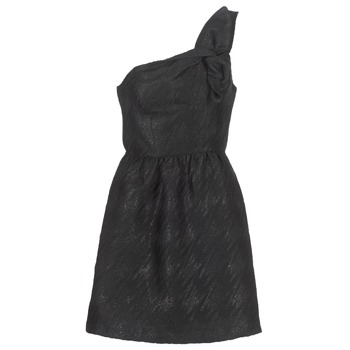 Clothing Women Short Dresses Naf Naf ECLAIR Black