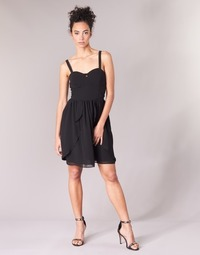 Clothing Women Short Dresses Naf Naf LENY R1 Black