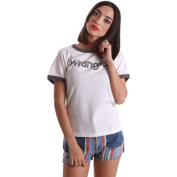 Clothing Women short-sleeved t-shirts Wrangler W7373G22T T-shirt Women Grey Grey