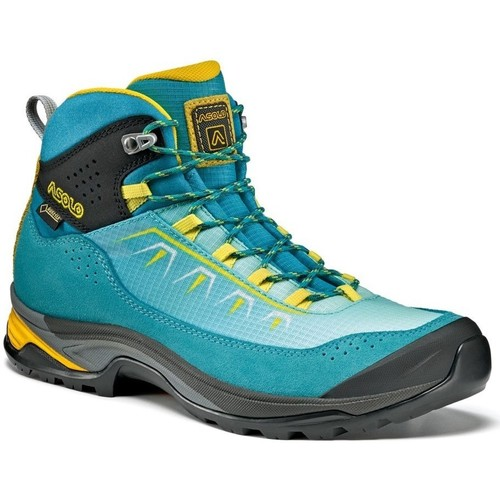 Shoes Women Hi top trainers Asolo Soul GV Womens Turquoise-Yellow-Blue