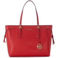 Bags Handbags MICHAEL Michael Kors Voyager red leather shopping bag Red