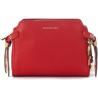 Bags Shoulder bags MICHAEL Michael Kors Bristol tumbled leather messenger bag Red