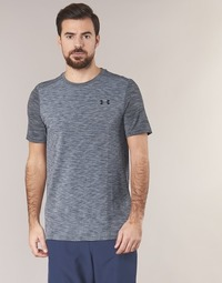 Clothing Men short-sleeved t-shirts Under Armour THREADBORNE SEAMLESS SS Grey