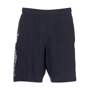 Clothing Men Shorts / Bermudas Under Armour WOVEN GRAPHIC WORDMARK SHORT Black