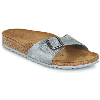 Shoes Women Mules Birkenstock MADRID Animal / Fascination / Granite