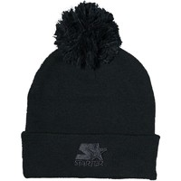 Clothes accessories Men Hats / Beanies / Bobble hats Starter Medal Knit With Bobble Beanie - Black Black
