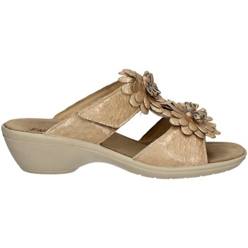 Shoes Women Sandals Enval 7971 Sandals Women Beige Beige