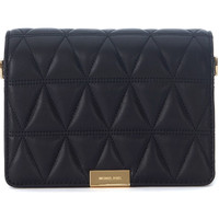 Bags Shoulder bags MICHAEL Michael Kors Jade black quilted leather pochette Black