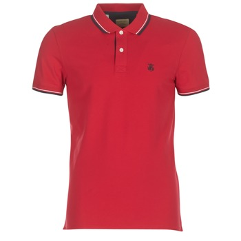 Clothing Men short-sleeved polo shirts Selected SLHNEWSEASON Red