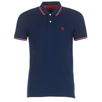 Clothing Men short-sleeved polo shirts Selected SLHNEWSEASON Marine