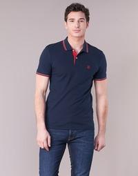 Clothing Men short-sleeved polo shirts Selected SLHNEWSEASON Marine