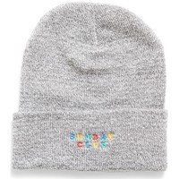 Clothes accessories Men Hats / Beanies / Bobble hats The Idle Man Embroidered Sunday Club Beanie Grey Grey