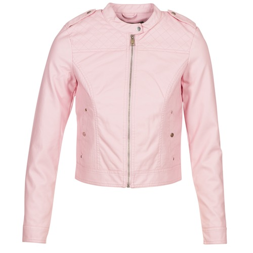 Clothing Women Leather jackets / Imitation leather Vero Moda VMALICE Pink
