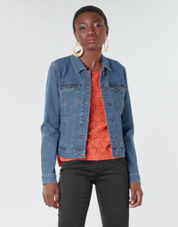 Clothing Women Denim jackets Vero Moda VMHOT SOYA Blue / Medium
