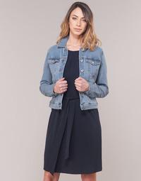 Clothing Women Denim jackets Vero Moda VMHOT SOYA Blue / Clear
