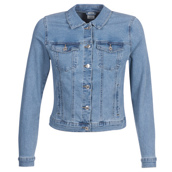 Clothing Women Denim jackets Vero Moda VMHOT SOYA Blue / Clear