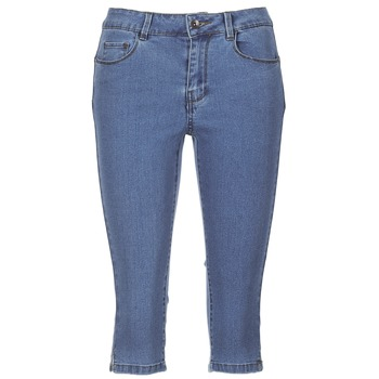 Clothing Women Cropped trousers Vero Moda VMHOTSEVEN Blue