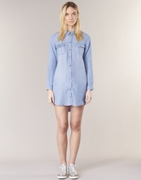 Clothing Women Short Dresses Vero Moda VMSILLA Blue / Clear