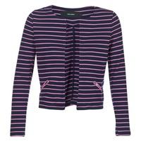 Clothing Women Jackets / Blazers Vero Moda VMULA Marine / Pink