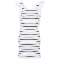 Clothing Women Short Dresses Vero Moda VMABHY White / Black