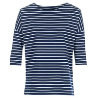 Clothing Women Sweaters Vero Moda VMULA Marine / White