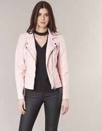 Clothing Women Leather jackets / Imitation leather Only STEADY Pink