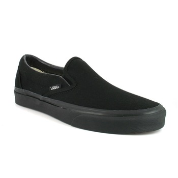 Shoes Slip ons Vans CLASSIC SLIP-ON  black /  black