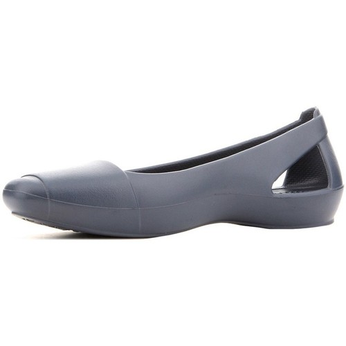 Shoes Women Sandals Crocs Sienna Flat Navy Grey