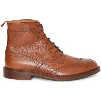 Shoes Men Mid boots The Idle Man Leather Brogue Boot Tan Other