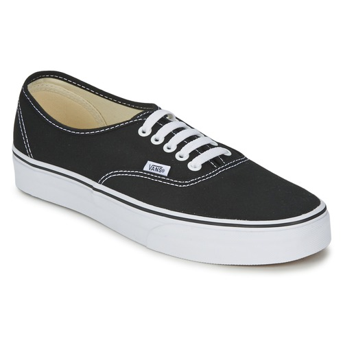 Shoes Low top trainers Vans AUTHENTIC Black/White