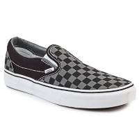 Shoes Slip-ons Vans CLASSIC SLIP ON Black / Grey