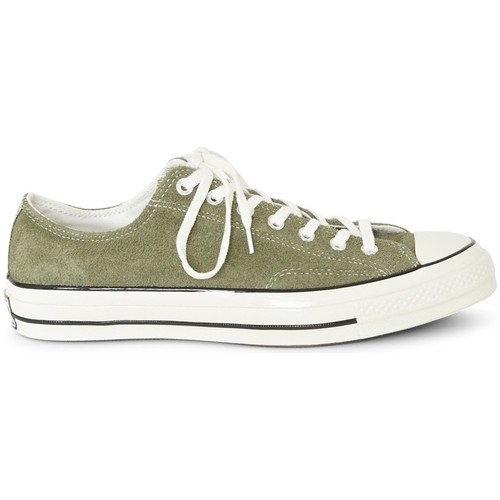 Shoes Men Low top trainers Converse Chuck Taylor All Star '70 Suede Ox Green Green