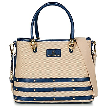 Bags Women Small shoulder bags Ted Lapidus SANTORINI Beige / Marine