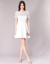 Clothing Women Short Dresses Betty London INLOVE White