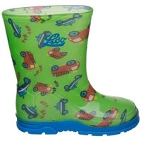 Shoes Wellington boots Lico Splashy Pink