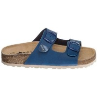 Shoes Mules Lico Lady Blue-Brown