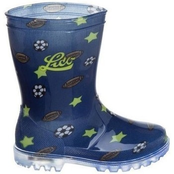 Shoes Wellington boots Lico Fit Indoor Weissmarine White