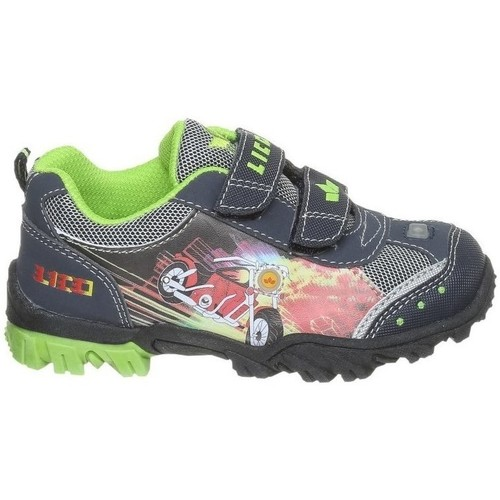 Shoes Low top trainers Lico Motorbike V Blinky Blue
