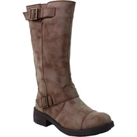 Shoes Women High boots Rocket Dog Terry Galaxy PU Tan