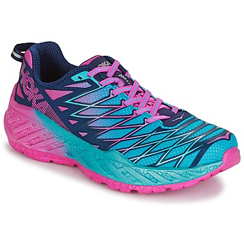 Shoes Women Running shoes Hoka one one W CLAYTON 2 Blue / Pink