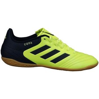 Shoes Children Low top trainers adidas Originals Copa 174 IN J Yellow-Black