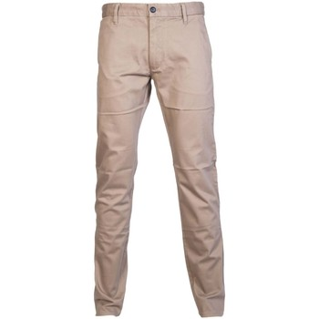Clothing Men Chinos Armani jeans 6Y6P156NKFZ_taupe grey